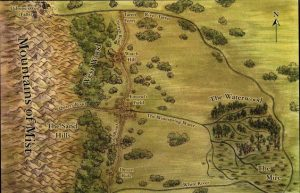 Dwie Rzeki - mapa