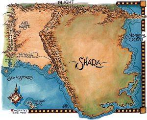 Mapa Shary