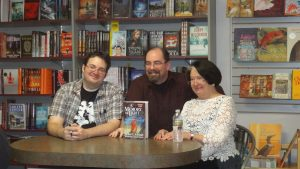 Harriet McDougal i Brandon Sanderson