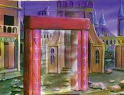 Czerwone drzwi w Rhuidean