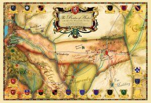 Andor mapa