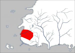 Umiejscowienie Tarabon na mapie Westland