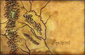 Manatheren - mapa