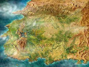 Westland topografia