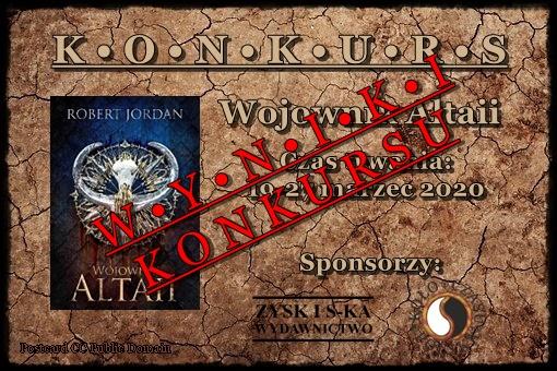 Wyniki konkursu Wojownik Altaii ♥