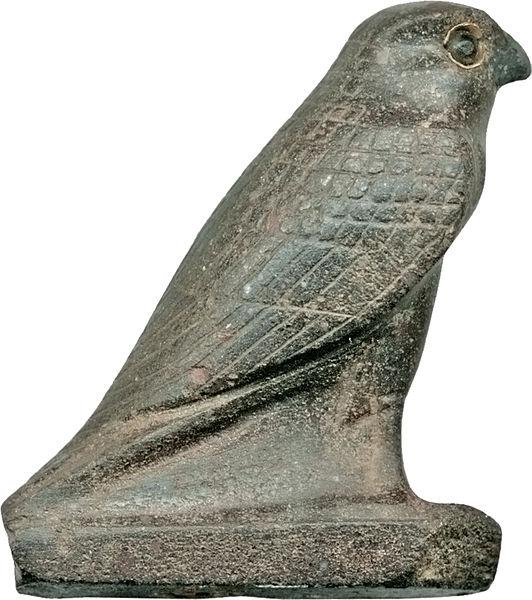 Sokół rzeźba Egipt - CC0 Public Domain